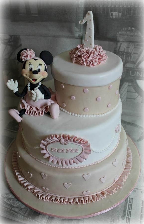 Minnie Dancer  Children cakes / Bolos Criança  Pinterest  Dancers ...