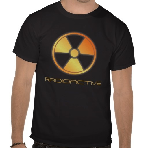 radioactive tee shirt by BannedWare