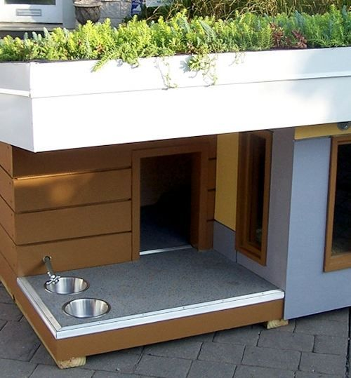 Cool dog houses. #doghousesandkennels                                                                                                                                                     More                                                                                                                                                                                 More