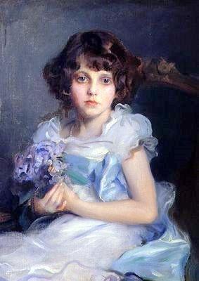 """""""Marguerite"""" -- by Philip Alexius de Laszlo (1869 – 1937, Hungarian-born English) **"""