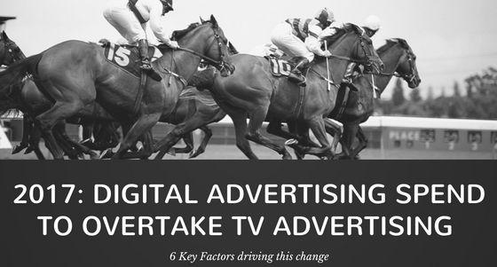 Digital Advertising to overtake TV Advertising in US this year