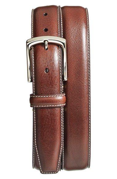 1 3/8 ( comes in blue) Torino Belt Burnished Leather Belt available at #Nordstrom