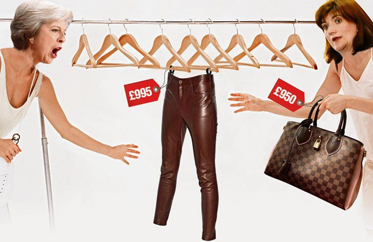 Nicky Morgan has come under fire for criticizing Theresa May over her £995 of leather trousers.