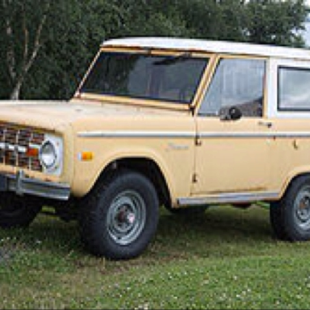 Old ford bronco