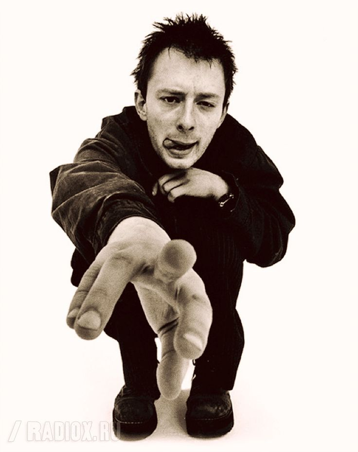 Thom Yorke - #Radiohead - London 1996 - By Ian Rankin