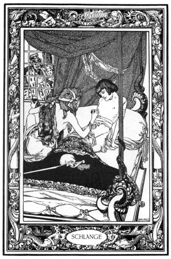 'Das Märchen aller Märchen oder Das Pentameron' by Giambattista Basile; illustrated by Franz von Bayros, 1909
