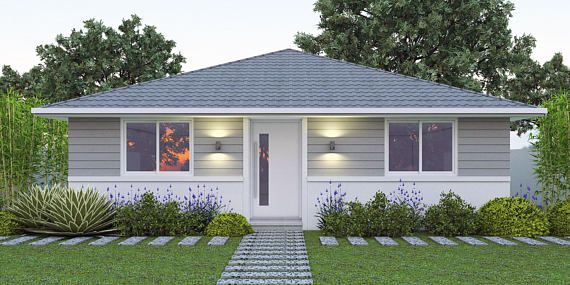 968 Sq Feet Or 90 M2 2 Bedroom 2 Small Home Design Small Small House Design House Plans For Sale Craftsman Bungalow Exterior