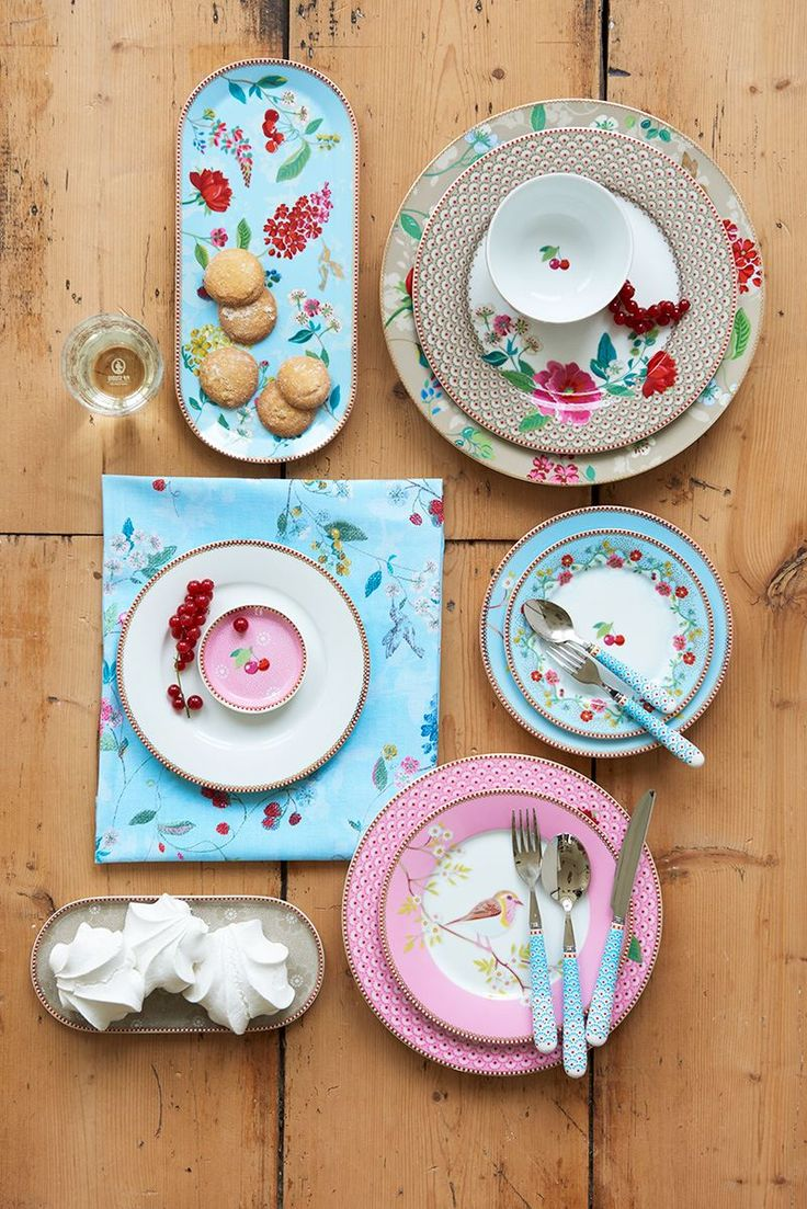 Floral2 Pip Studio : la nouvellle collection 2017 vaisselle en porcelaine