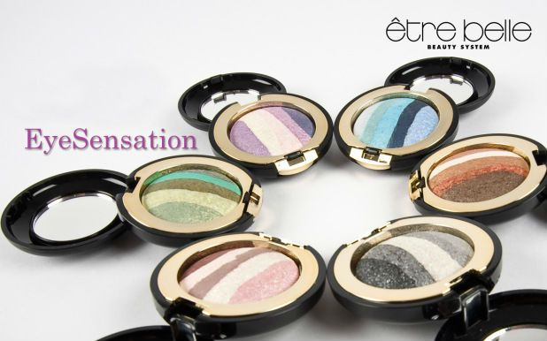 < Eye Sensation > by Etre Belle:  Intensive Metallic Eye shadow, apply dry for a metallic shimmer. #makeup #eyes #etrebelle #bbmesthetique