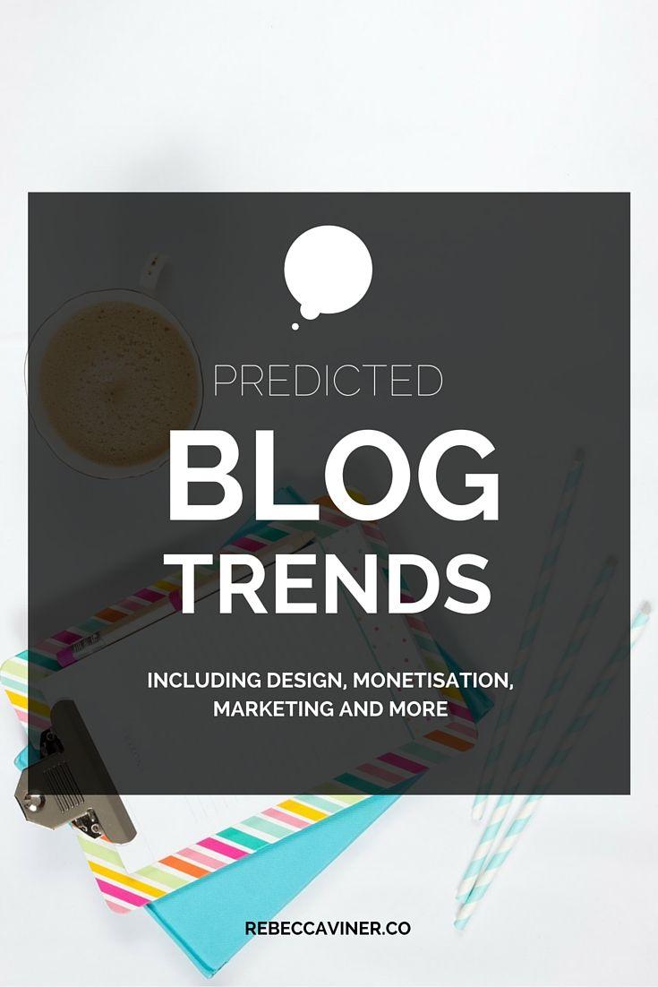 2016 Blog Trend Predictions