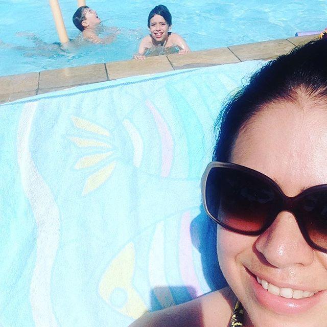 Verão e férias, combinação perfeita!!! ☀️💦 #frescurasdatati #verao #sumer #ferias #sol #crianças