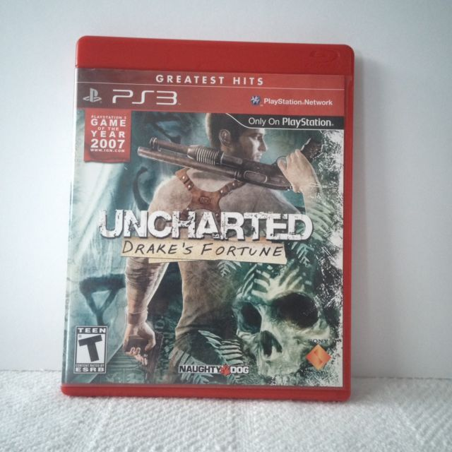 Uncharted: Drake's Fortune Video Game (Sony Playstation 3) | eBay