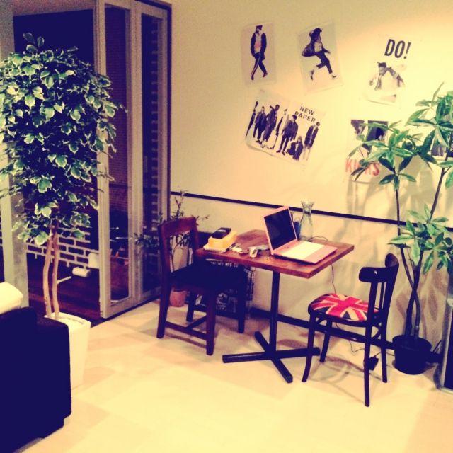 リビングのコーヒーテーブル/北欧/一人暮らし/観葉植物/アンティーク/Lounge…などのインテリア実例 - 2015-01-29 07:59:16 | RoomClip(ルームクリップ)