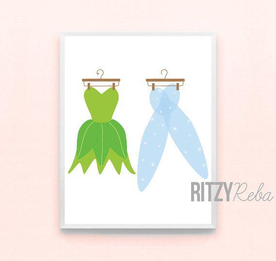 Disney Princesse fille pépinière Art par RitzyRebaDesigns sur Etsy, $10.00