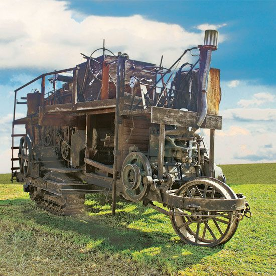 1917 Holt Combine Finds a Home in Iowa - Equipment - Farm Collector Magazine
