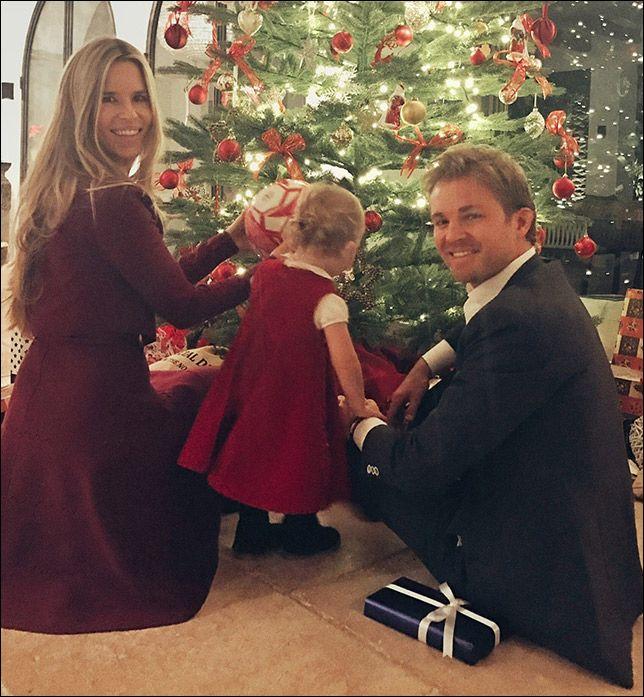 Рождественская фотография от Нико Росберга - все новости Формулы 1 2016