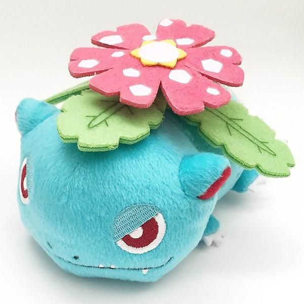 This isa Banpresto Pokemon Venusaur Kuttari Laying 5 Inch Plush Figure. This Pokemon Venusaur Kuttari Laying is of a very well made quality and a great collect