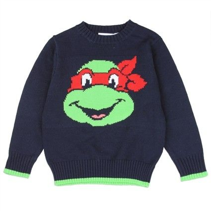 Sizes 2T 3T 4T     Made From 55% Cotton 45% Acrylic     Label Nick Jr Teenage Mutant Ninja Turtles     Officially Licensed By Nick Jr Teenage Mutant Ninja Turtles Apparel  Free Shipping
