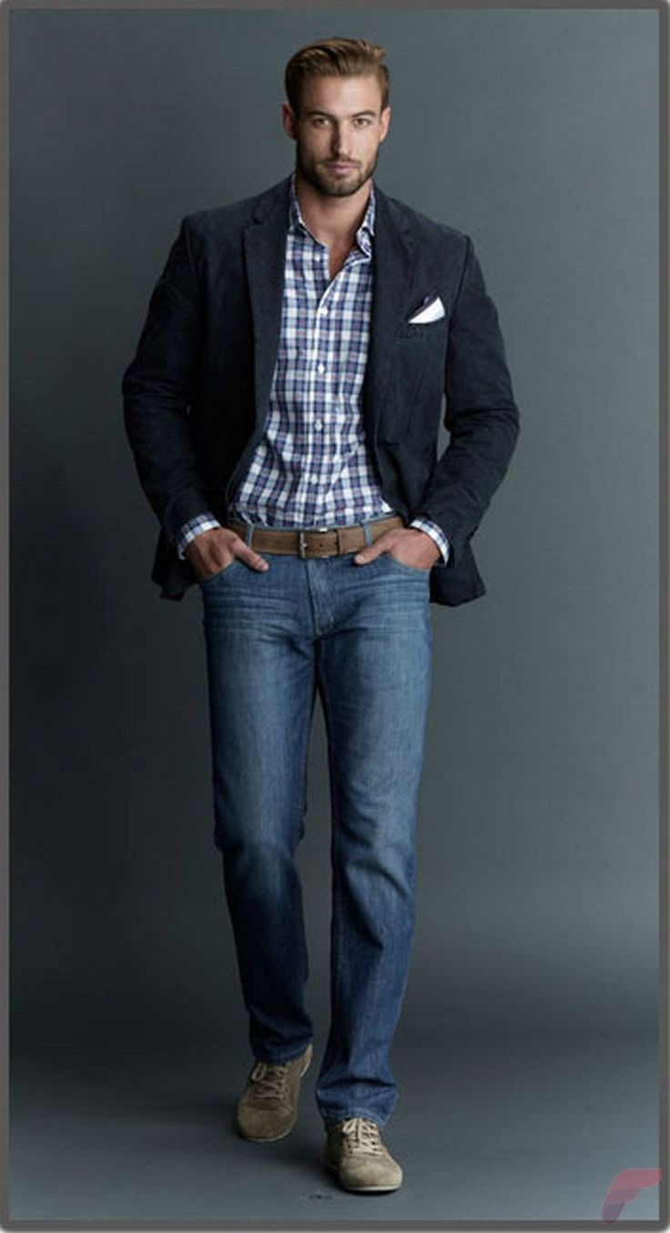 Guide for Men Who Wants to Wear Sport Coat with Jeans | Fashion guide Sport coat and Menu0026#39;s fashion