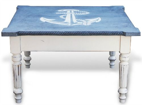 Nautical Anchor Coffee Table | Shop Or DIY: Http://www.completely