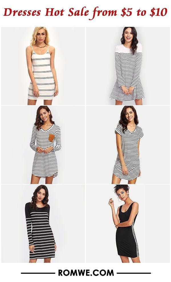 hot sale dress from  5 to  10 - romwe.com  88e8e5da05