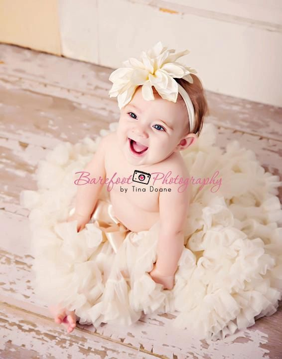 Baby headband flower girl hair accessories by BambaroosBoutique, $14.50