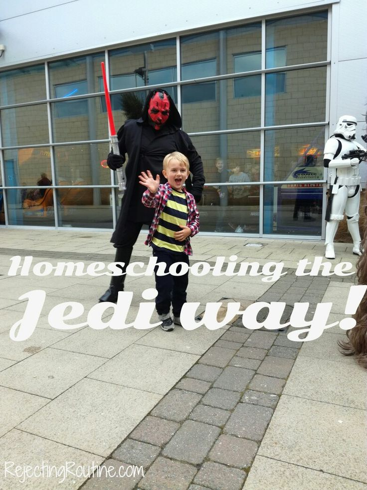 How to make homeschooling  fun for Star Wars fans! If you have a wannabe Jedi then this is the post for you.