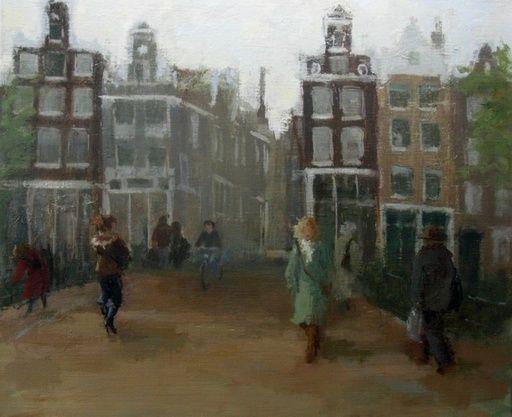 Malie Baehr | Wijde Heisteeg | Amsterdam, on right second floor her studio