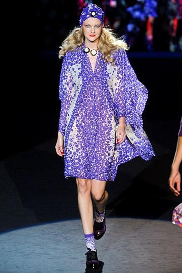 Anna Sui Spring 2012 RTW Fashion Show