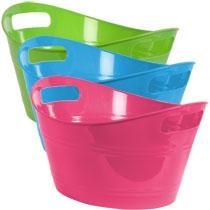 Bulk Mini Plastic Oval Storage Tubs at DollarTree.com