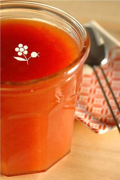 Confiture tomate, pomme, citron & vanille_2