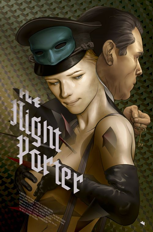 The Night Porter movie poster on Behance