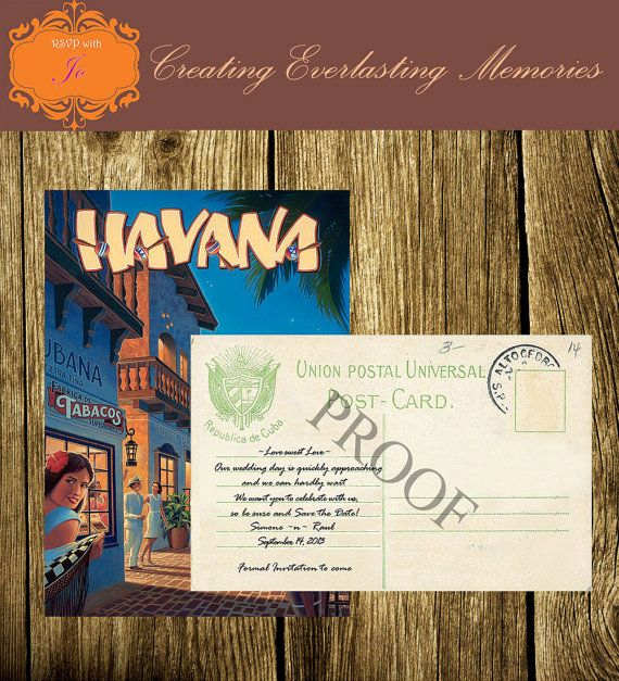 Havana Nights Invitations By Thedetailedhostess On Etsy 15 00
