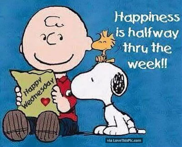Happiness Is Halfway Through The Week
