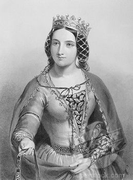 Anne Neville, the wife of King Richard III of England.