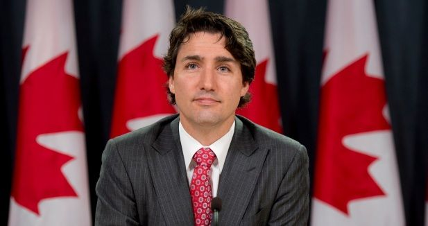 """""""Yes, Yes. I am a feminist. Proud to be a feminist. My mom raised me to be a feminist. My father raised me, he was a different generation but he raised me to respect and defend everyone's rights, and I deeply grounded my own identity in that, and I am proud to say that I am a feminist."""" - Justin Trudeau"""
