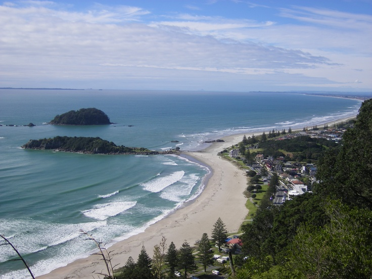 Up Mount Maunganui