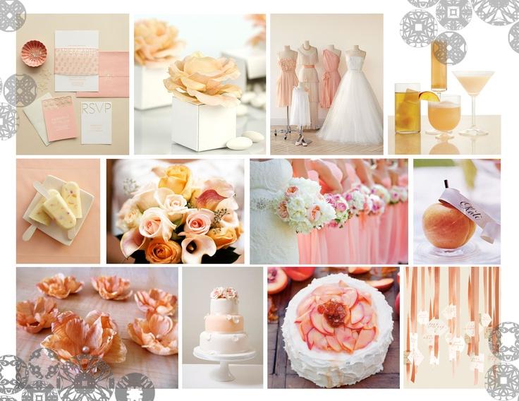 2013 Peaches and Cream Colour Trend