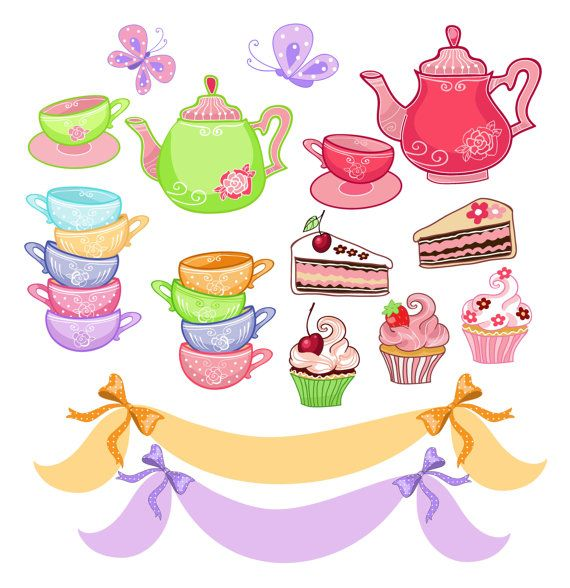 Clip Art Tea Party Clip Art 1000 images about tea party on pinterest clip art mom clips digital french style paris