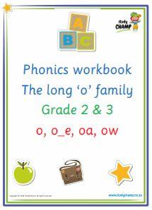 Phonics : Phonics: Long 'o' sound workbook