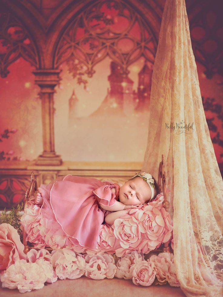 Love Disney Princesses? These sleeping beauties are the sweetest thing you'll see all day—and great inspiration for your baby's newborn photo shoot!