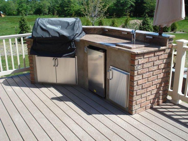 21 best outdoor kitchen on wooden deck images on pinterest outdoor cooking outdoor kitchens on outdoor kitchen on deck id=19006