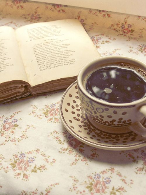 buy a book, get free coffee. I think that`s a great idea :D just gotta win the lotto lol