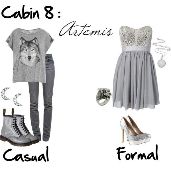 just spectacular.. Cabin 8 Artemis casual outfit. I love wolves so this is awesome!!!