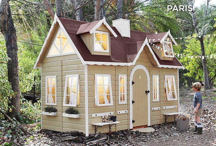 Casetta in legno per bambini PARIS