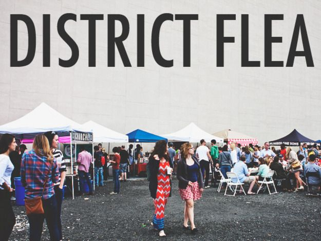 Market Scene: District Flea in Washington, DC