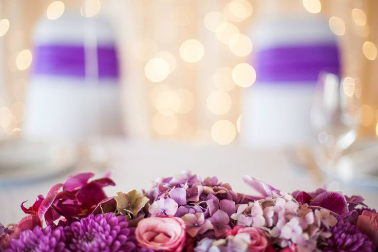 ConceptWedding - sugárzó orchidea lila