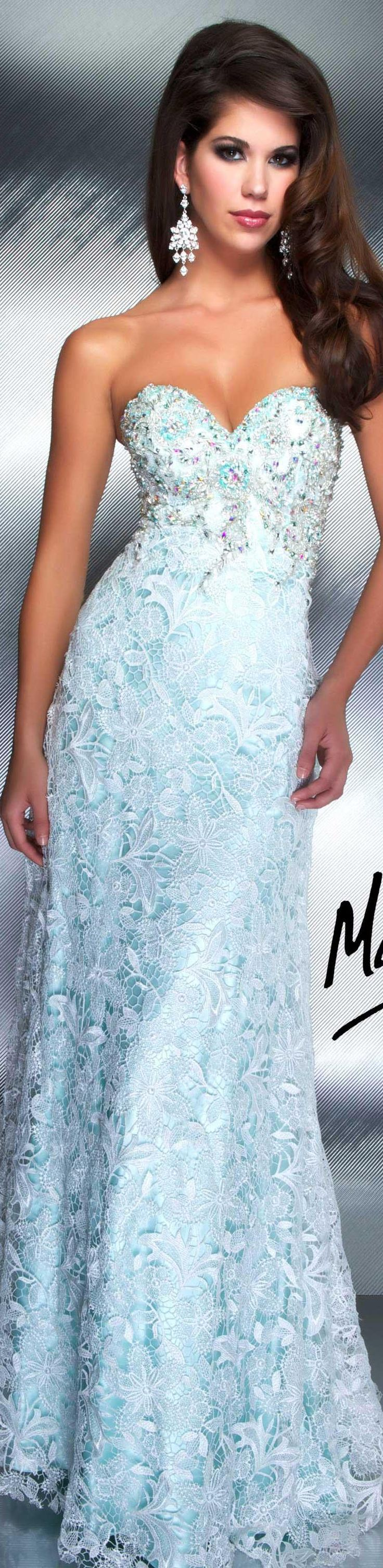 Mac Duggal couture dress mint COUTURE DRESSES  STYLE 78740D Absolutely love this!
