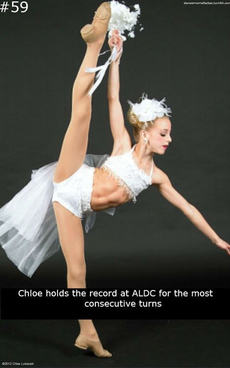 Chloe Lukasiak Dance Moms Fact