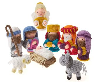 PORTAL DE BELEN CROCHET / NATIVITY